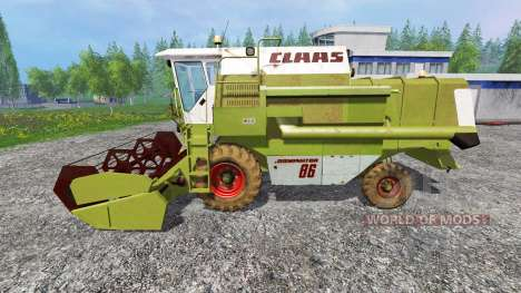 CLAAS Dominator 88SL pour Farming Simulator 2015