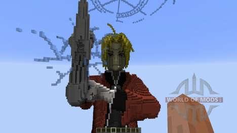 Edward Elric Fullmetal Alchemist pour Minecraft
