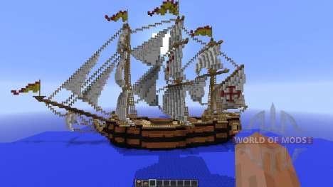 Spanish Frigate: Perla de Espana für Minecraft