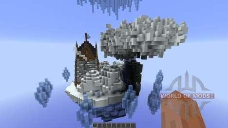 Nacreous Ice Island Concept für Minecraft