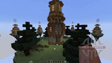 Map Castle Minecraft Skywars für Minecraft