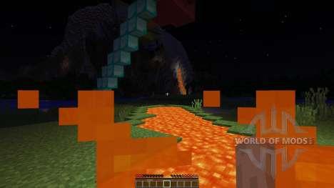 Sky land adventure map für Minecraft