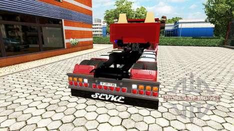 Scania R999 V8 pour Euro Truck Simulator 2