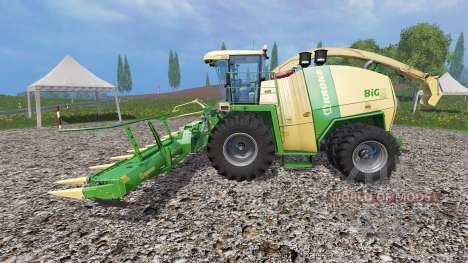 Krone Big X 1100 [beast] pour Farming Simulator 2015