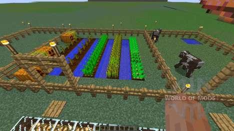 Charlotte Demons pepper farm pour Minecraft
