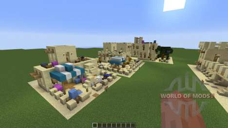 Desert Building Pack für Minecraft