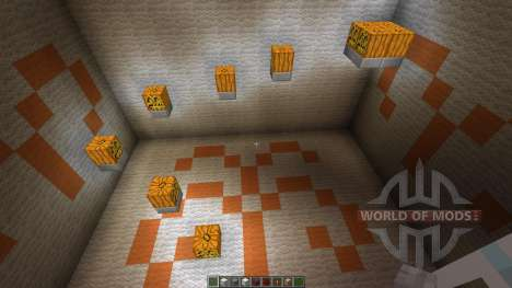 11 seconds Parkour Map für Minecraft