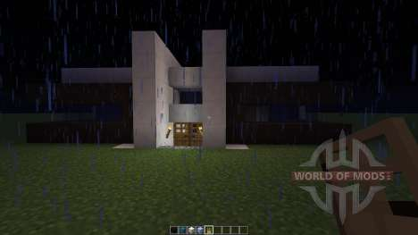 Modern house pour Minecraft