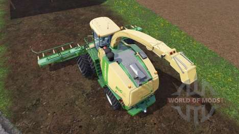 Krone Big X 1100 [twin fronts wheels 2] pour Farming Simulator 2015