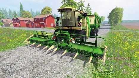 Krone Big X 650 Cargo v4.3 pour Farming Simulator 2015