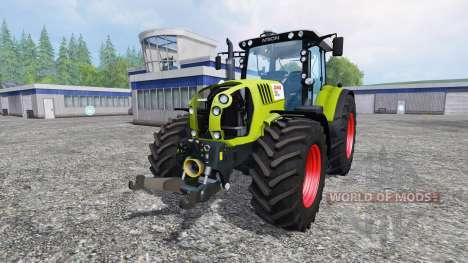 CLAAS Arion 650 v2.5 pour Farming Simulator 2015