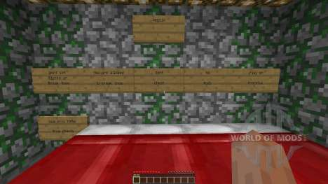 Minecraft Adventure Map Pentagon pour Minecraft