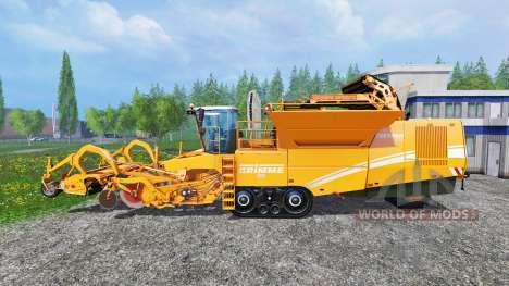 Grimme Tectron 415 [orange] für Farming Simulator 2015