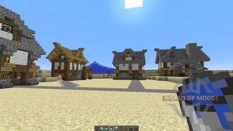 Medieval Village Concept für Minecraft