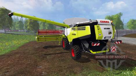 CLAAS Lexion 770 [washable] v2.0 für Farming Simulator 2015