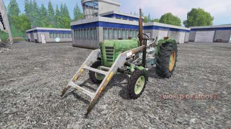 Ursus C-4011 with front loader pour Farming Simulator 2015