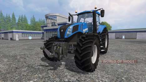 New Holland T8.320 v2.4 für Farming Simulator 2015