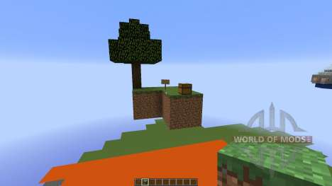 SkyBlock Unlimeted Update pour Minecraft