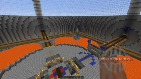 4 Spheres CTF map pour Minecraft