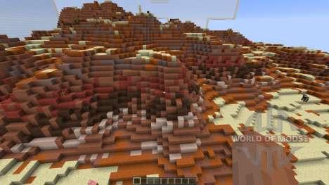 QCBC Dester river pour Minecraft