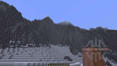 Glacier Valley pour Minecraft