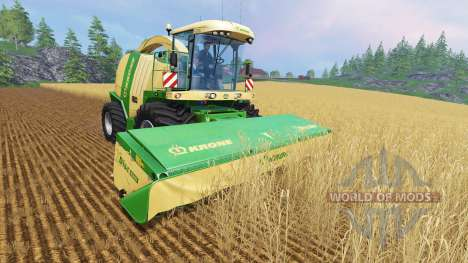 Krone Big X 1100 [100.000 capacity] für Farming Simulator 2015