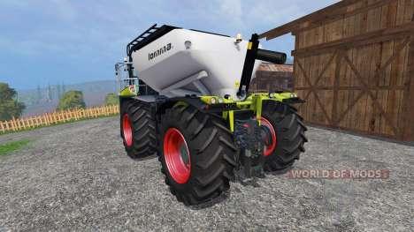 CLAAS Xerion 4000 SaddleTrac pour Farming Simulator 2015