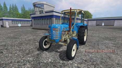 Zetor 4011 pour Farming Simulator 2015