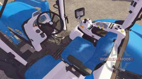 New Holland T7040 FL pour Farming Simulator 2013