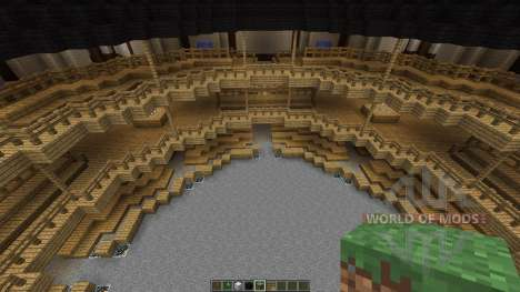 Shakespeares Globe Theatre in London für Minecraft