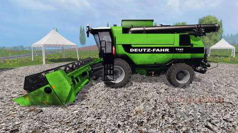Deutz-Fahr 7545 RTS v1.2.1 für Farming Simulator 2015