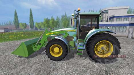 John Deere 7930 with front loader für Farming Simulator 2015