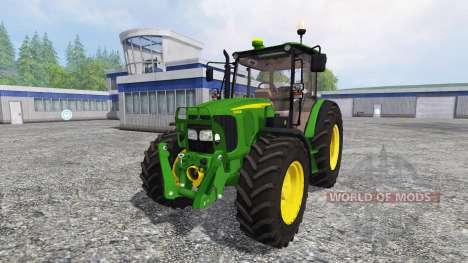 John Deere 5080M FL pour Farming Simulator 2015