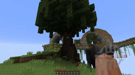SkyLands pour Minecraft