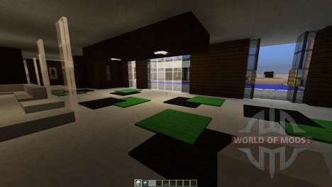 Modern House für Minecraft