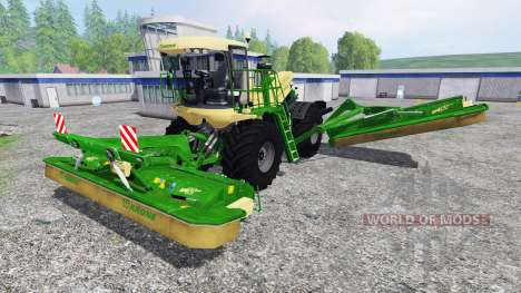 Krone Big M 500 v1.01 für Farming Simulator 2015
