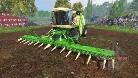 Krone Big X 1100 [beast] v12.0 pour Farming Simulator 2015
