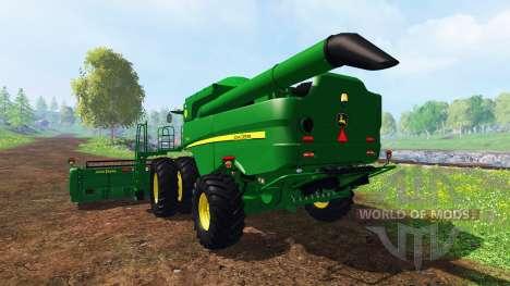John Deere S550 pour Farming Simulator 2015