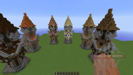 Medieval Tower Assorted Wood Variants pour Minecraft