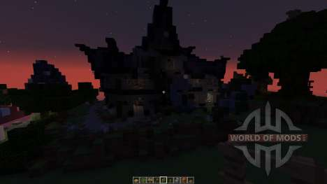 Fantasy House Pack 5 houses für Minecraft