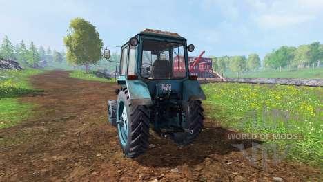 MTZ-80 [bleu] v2.0 pour Farming Simulator 2015
