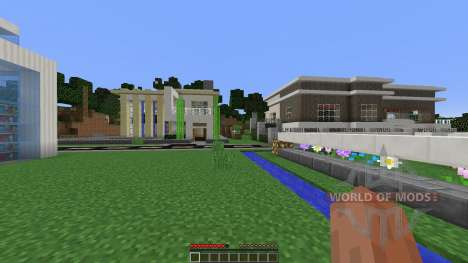Modern pick City für Minecraft