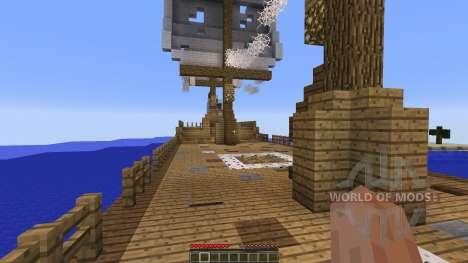 Berg Bol Island-Survival Map für Minecraft