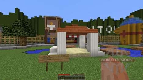 Toontown pour Minecraft