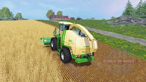 Krone Big X 1100 [128000 liters] pour Farming Simulator 2015