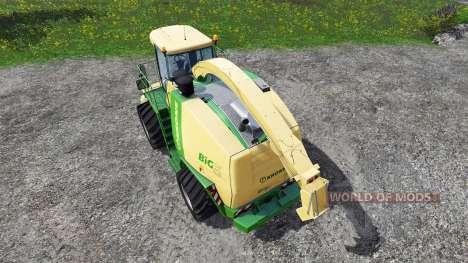 Krone Big X 1100 v1.1 für Farming Simulator 2015