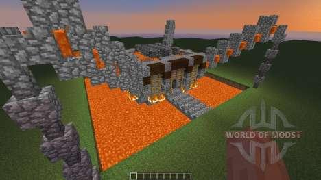 Dyxia - a motlenCore inspired build für Minecraft
