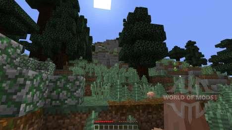 Alpine Island Custom Survival Island für Minecraft