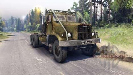 KRAZ-258 für Spin Tires