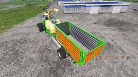 Krone Big X 1100 Hkl pour Farming Simulator 2015